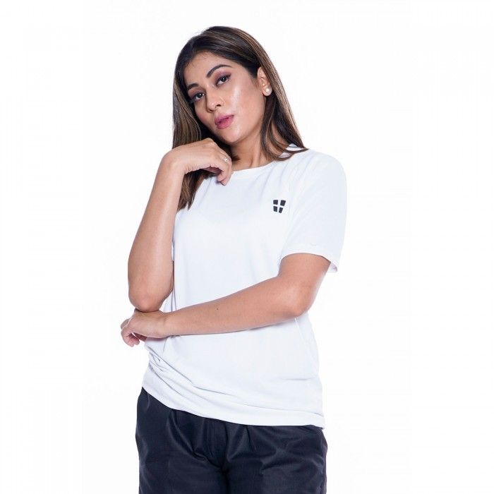 White Dry Fit T-Shirt
