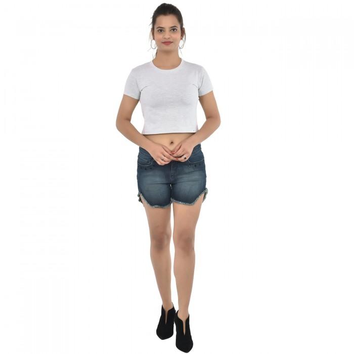 Melange Women's Crop Top