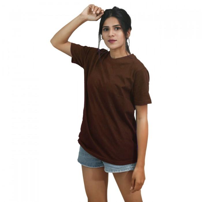 Brown Girls Half Sleeve T-Shirt