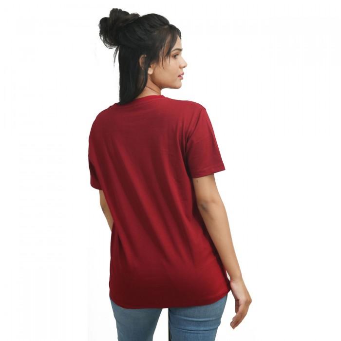 Red Girls Half Sleeve T-Shirt