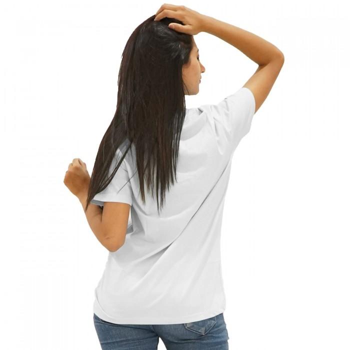 White Girls Half Sleeve T-Shirt